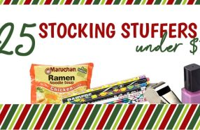 cheap stocking stuffers -- 25 under $1