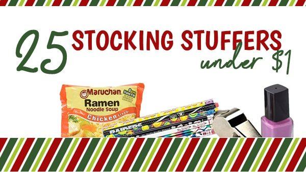 cheap stocking stuffers -- 25 under $1